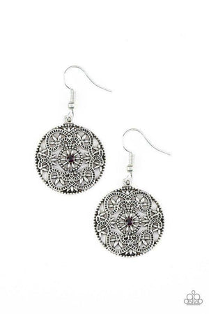 Paparazzi Rochester Royale Purple Earrings
