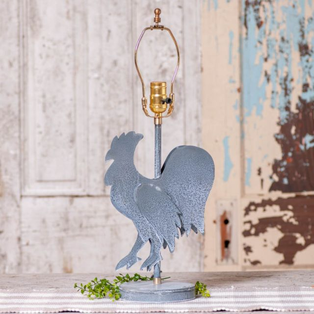 Rooster Lamp Base