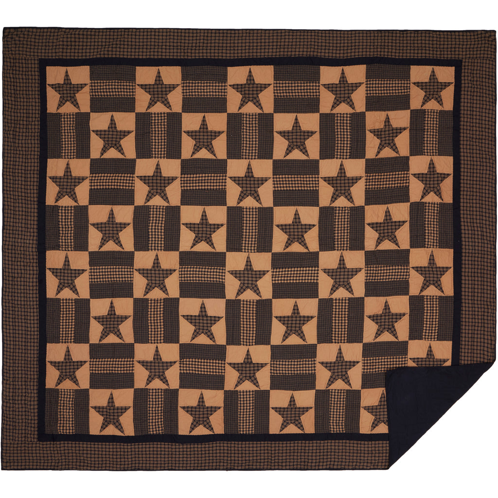 Teton Star Luxury King Quilt 120Wx105L