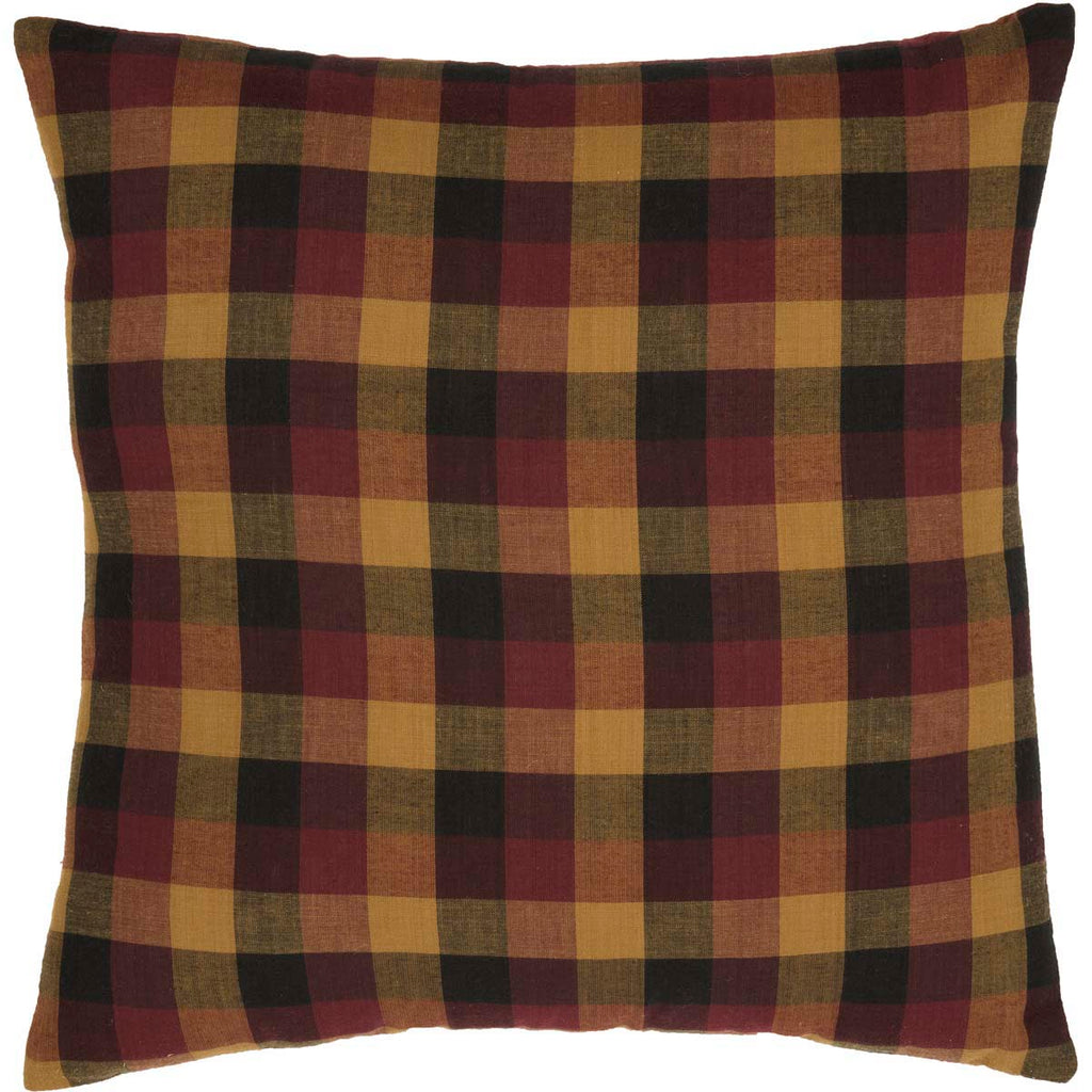 Heritage Farms Primitive Check Fabric Pillow 16x16