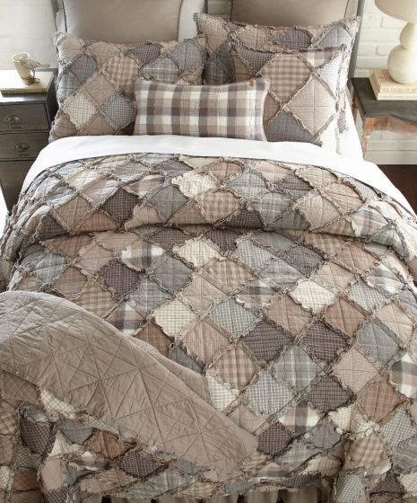 Donna Sharp Smoky Mountain Farmhouse Primitive Quilted Collection