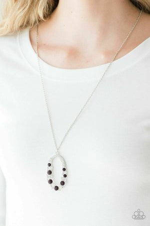 Paparazzi Spotlight Social Purple Necklace
