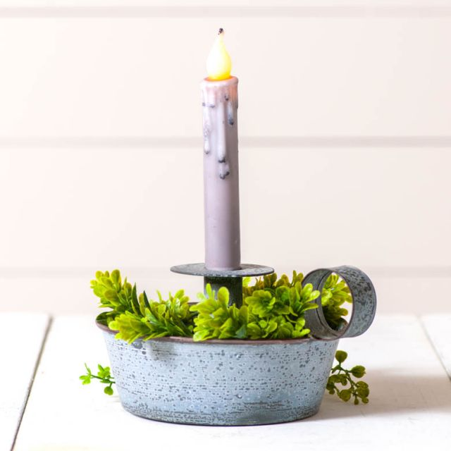 Tapered Pan Candle Holder