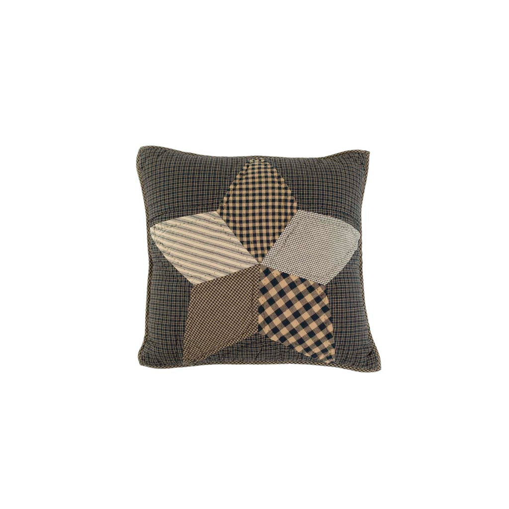 Farmhouse Star Pillow Quilted 16x16