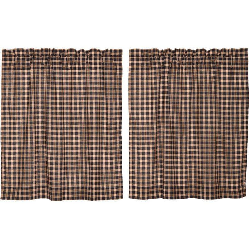 Bingham Star Tier Plaid Set of 2 L36xW36