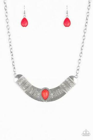 Paparazzi Very Venturous Red Necklace