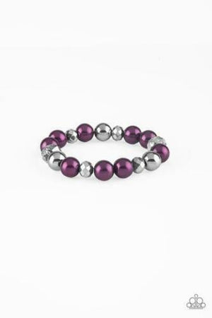 Paparazzi Very VIP Purple Bracelet