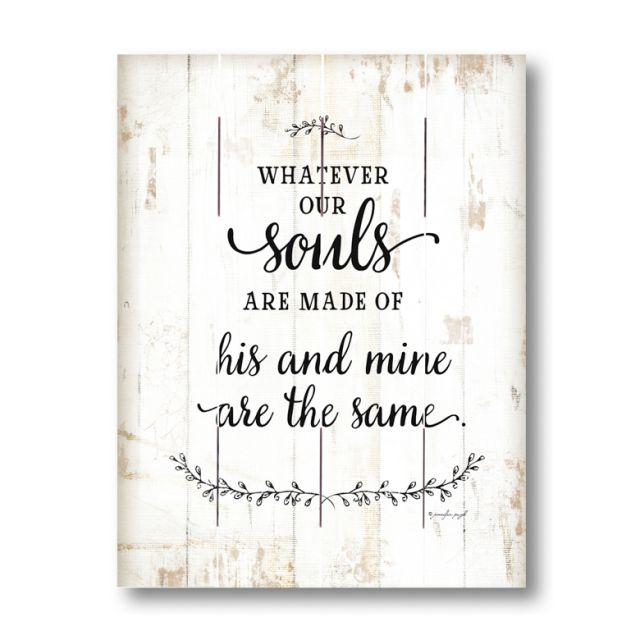 Farmhouse Pallet Wall Art ~ Whatever Our Souls are Made Of