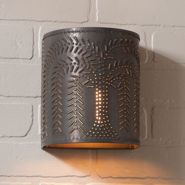 Willow Sconce Light in Kettle Black