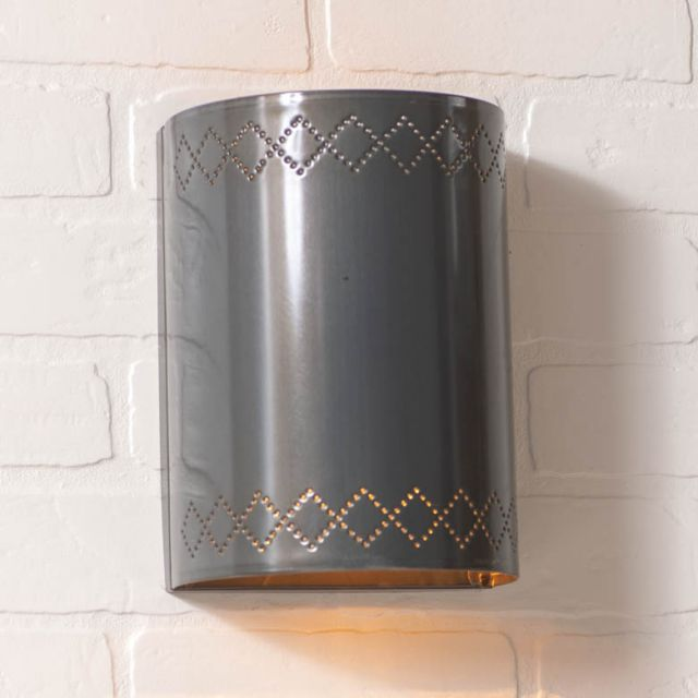 Winslow Sconce Light in Country Tin