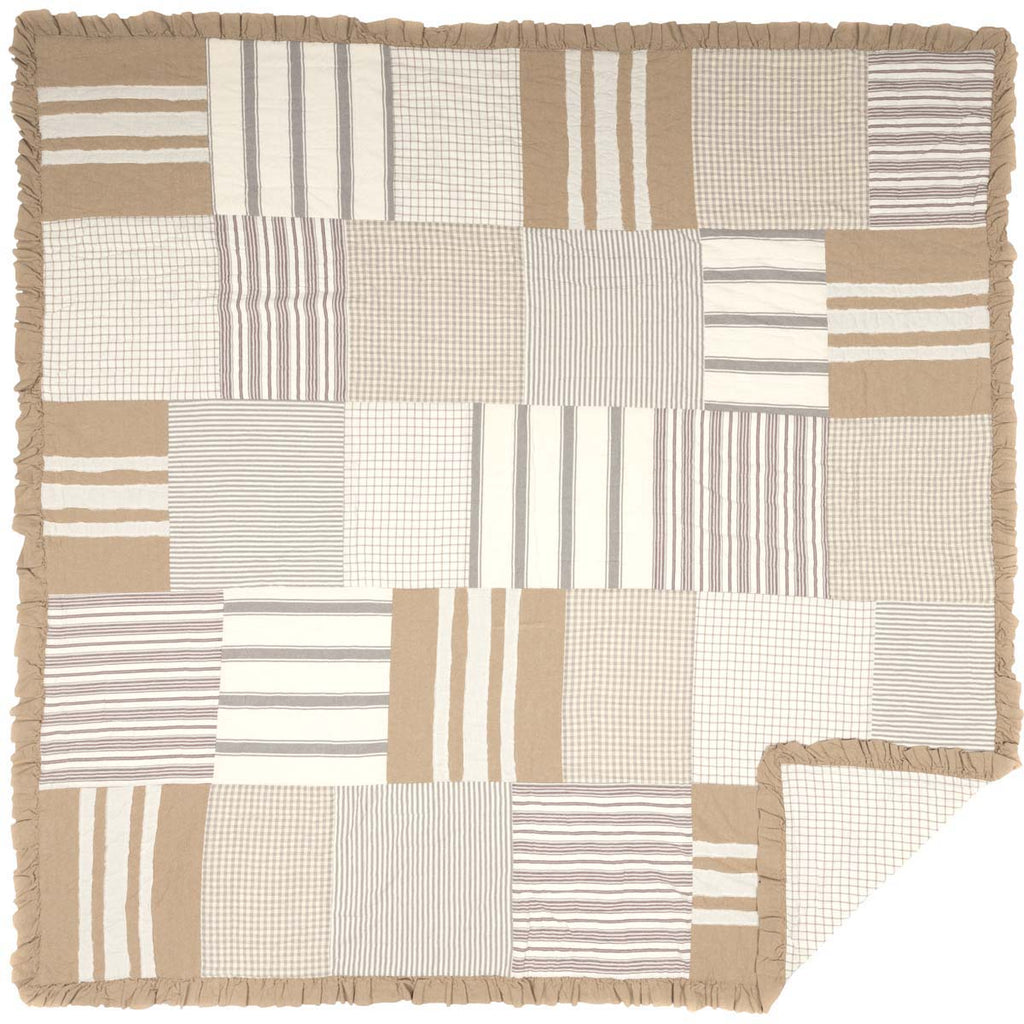Grace Queen Quilt 90Wx90L
