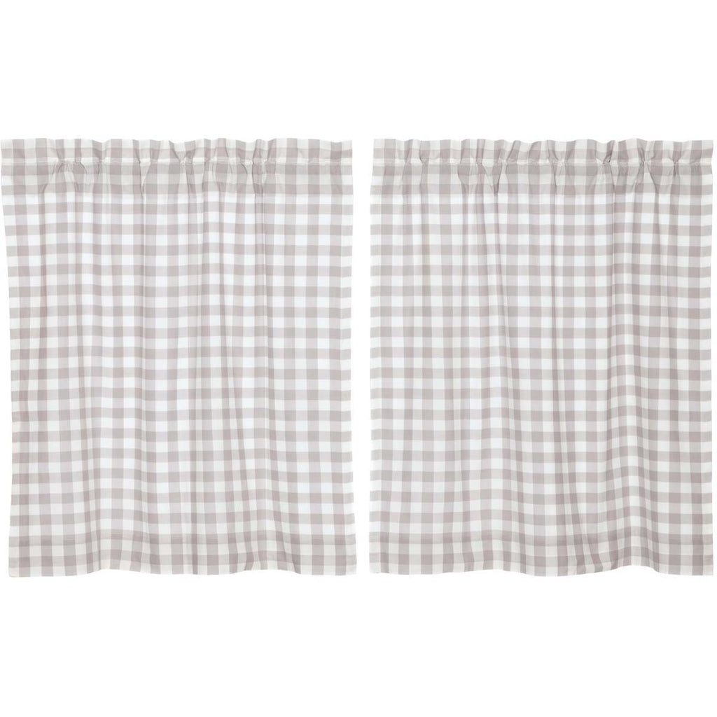 Annie Buffalo Grey Check Tier Set of 2 L36xW36