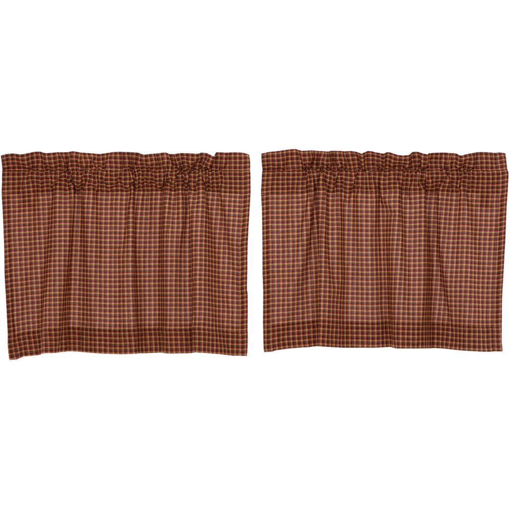 Patriotic Patch Plaid Tier Set of 2 L24xW36