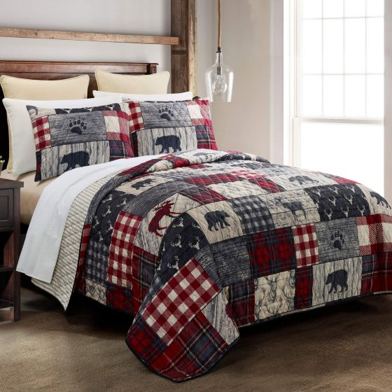 Timber Quilted Collection - front