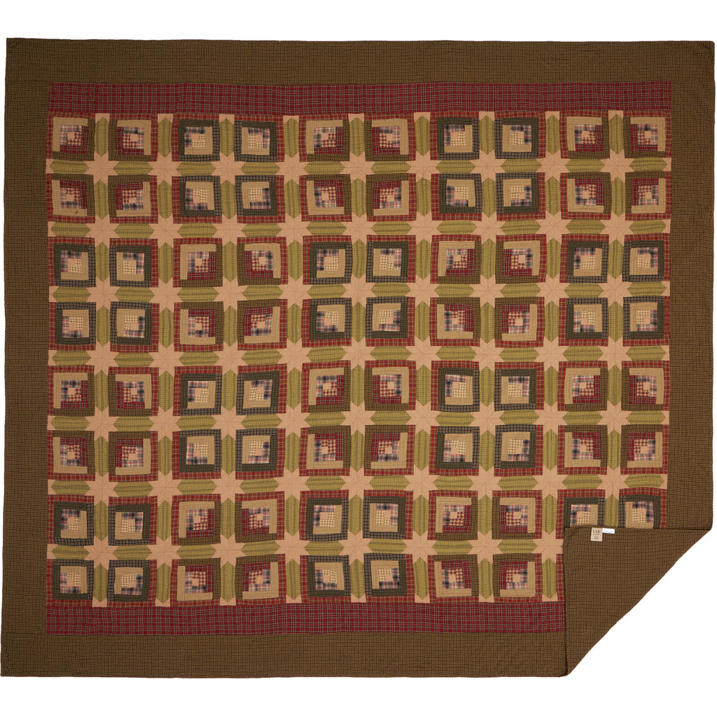 Tea Cabin Luxury King Quilt 120Wx105L