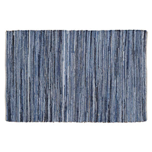 Denim & Hemp Chindi/Rag Rug Rect 60x96