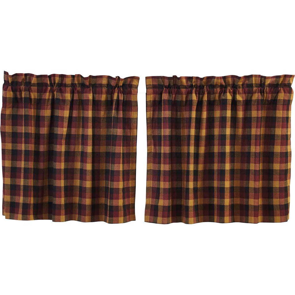 Heritage Farms Primitive Check Tier Set of 2 L24xW36