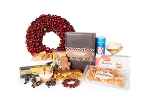 Assortment of gourmet gift ideas for budget hampers