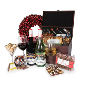 Deluxe christmas hamper gifts