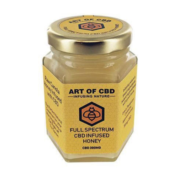 ART OF CBD FULL SPECTRUM CBD INFUSED HONEY - 300MG ARTF01 0732068891350 £34.99 £34.99 £34.99 300mg, Art Of CBD, CBD Honey, £30 - £40 CBD EDIBLES ART OF CBD Title Default  cbdwellnesscentre.co.uk