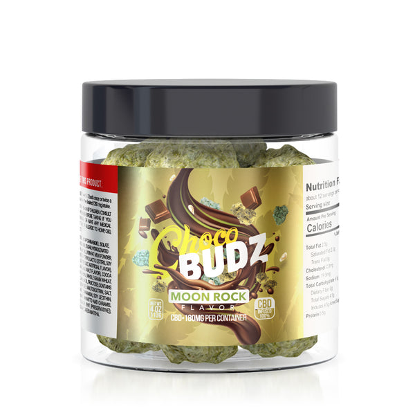 CHOCO BUDZ CBD INFUSED MOON ROCKS CHOCOLATE
