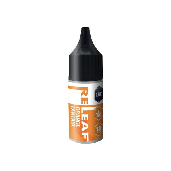 RE-LEAF ORANGE FANTASI CBD E-LIQUID 100MG - 10ML