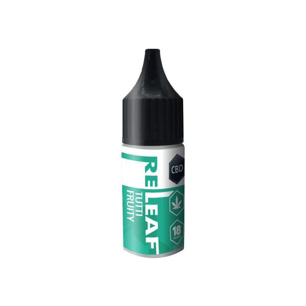 RE-LEAF TUTTI FRUITY CBD E-LIQUID 100MG - 10ML
