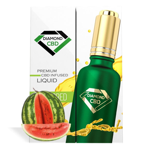 DIAMOND CBD OIL WATERMELON 250MG - 30ML