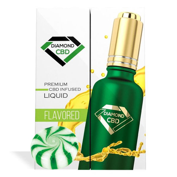 DIAMOND CBD OIL PEPPERMINT 100MG - 30ML