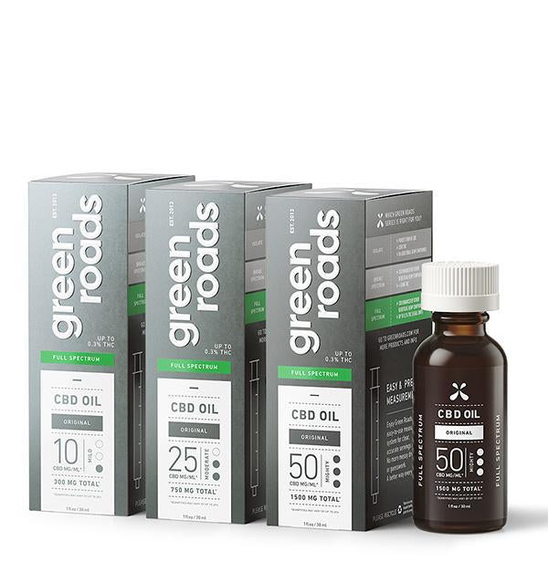 GREEN ROADS CBD OIL FULL SPECTRUM 750MG - 30ML