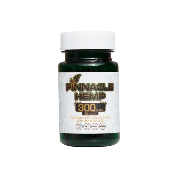 PINNACLE HEMP CBD CAPSULES 300MG - 30PCS