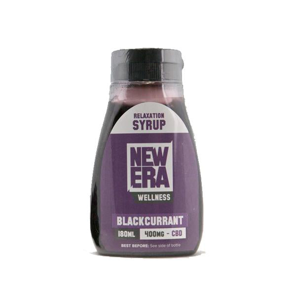 NEW ERA WELLNESS CBD RELAXATION SYRUP 400MG - 180ML