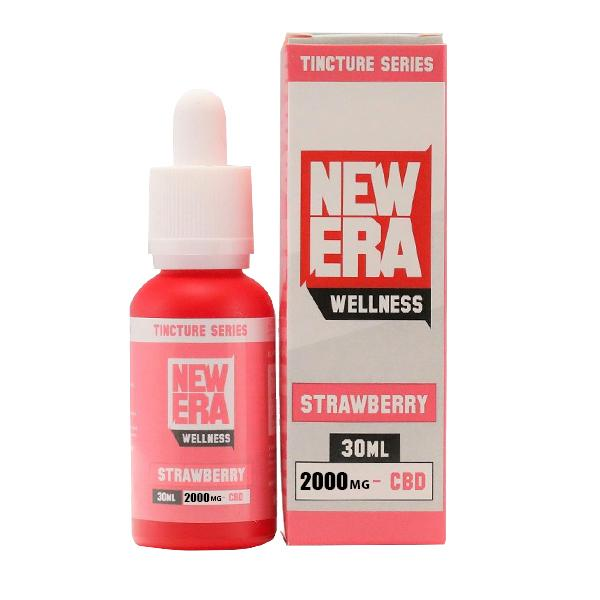 NEW ERA WELLNESS CBD FLAVOUR TINCTURE 2000MG - 30ML