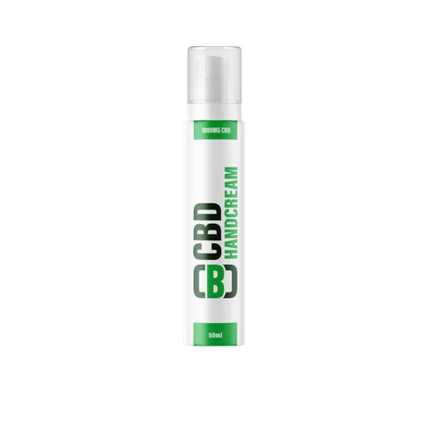 CBD Asylum Hand Cream 1000mg CBD 50ml (Buy One Get One Free)