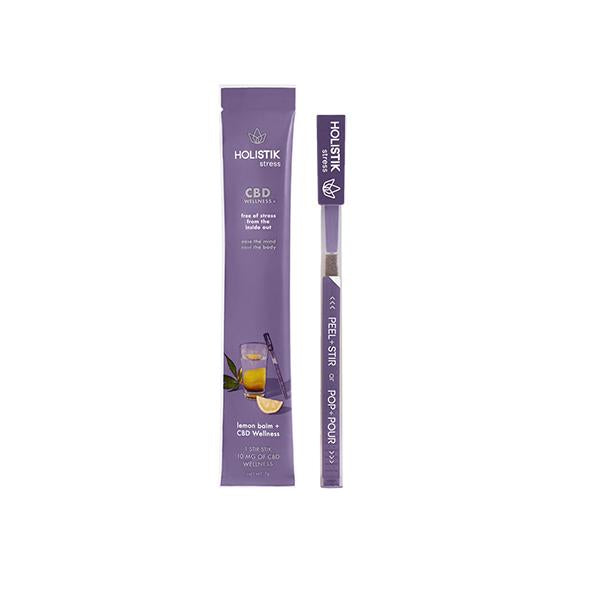 HOLISTIK Wellness 10mg CBD Stir STIKs