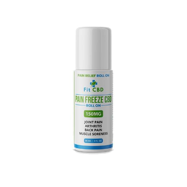 Fit CBD 150mg CBD Freeze Roll On 90ml