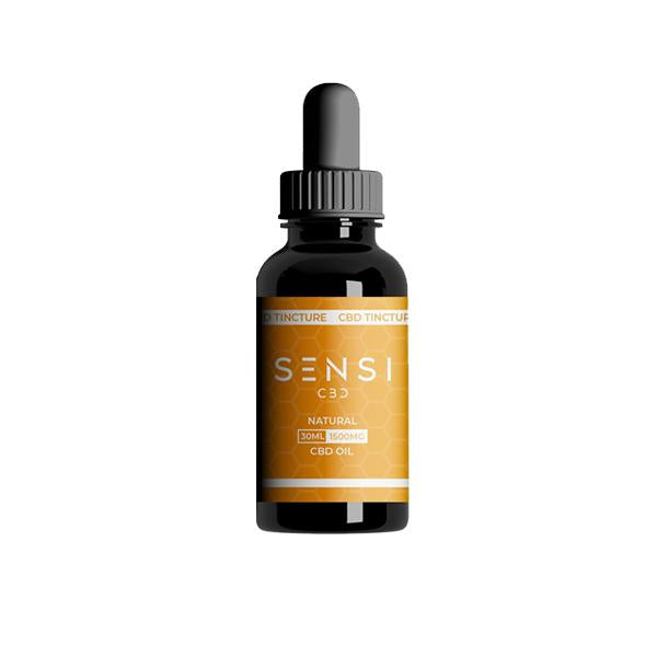 Sensi CBD 1500mg CBD Tinture Oil 30ml