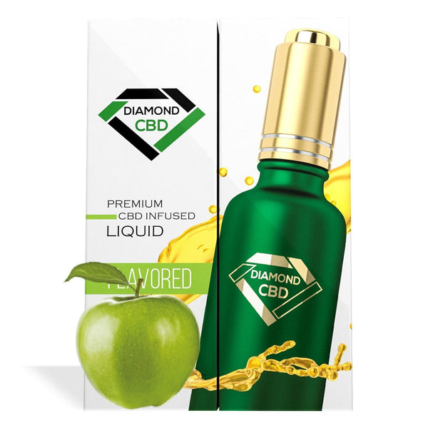 DIAMOND CBD OIL GREEN APPLE