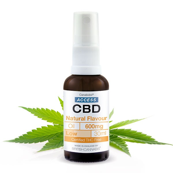 CANABIDOL ACCESS CBD NATURAL OIL 600MG - 30ML