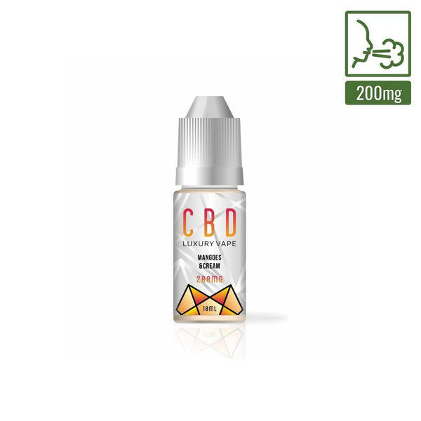 GEORGE BOTANICALS CBD E-LIQUID MANGOES & CREAM 200MG - 10ML