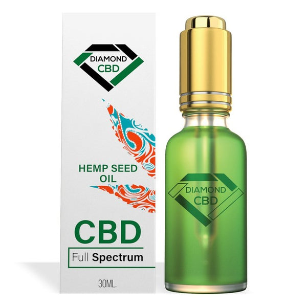 DIAMOND CBD FULL SPECTRUM HEMP SEED OIL 500MG - 30ML