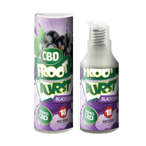 FROOT BURST BLACKCURRANT CBD E-LIQUID 100MG - 15ML