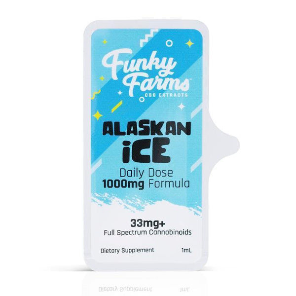 FUNKY FARMS CBD DAILY DOSE FULL SPECTRUM ALASKAN ICE
