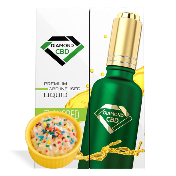 DIAMOND CBD OIL BIRTHDAY CAKE