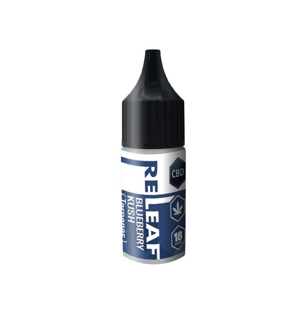 RE-LEAF BLUEBERRY KUSH CBD E-LIQUID 1200MG - 10ML