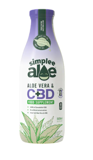SIMPLEE ALOE CBD ALOE VERA JUICE 50MG - 500ML
