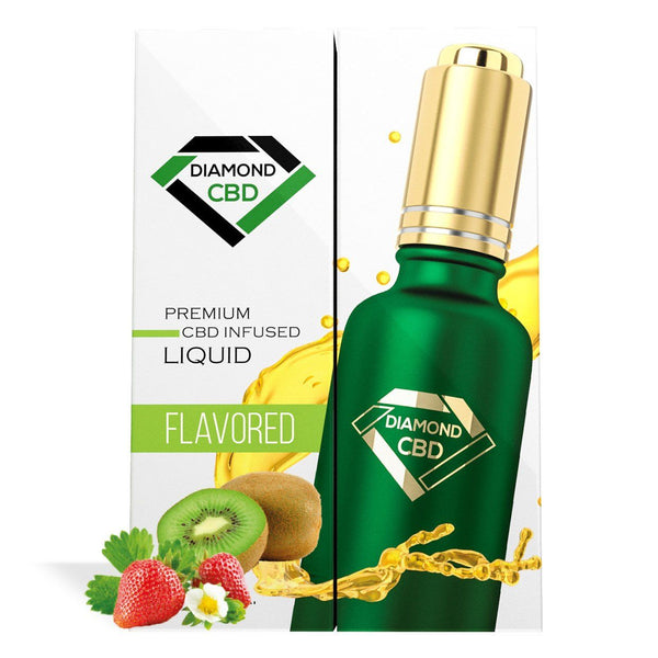 DIAMOND CBD OIL STRAWBERRY & KIWI