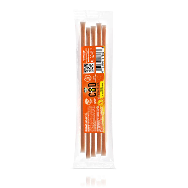 DIAMOND CBD INFUSED HONEY STICK PEACH 50MG - 5PCS