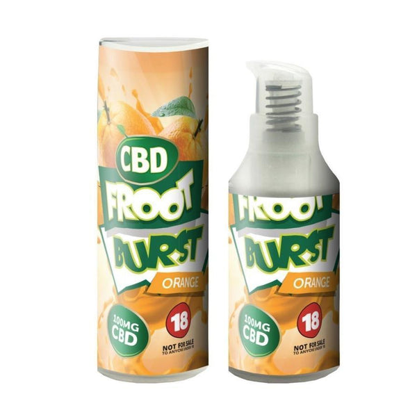 FROOT BURST ORANGE CBD E-LIQUID 100MG - 15ML