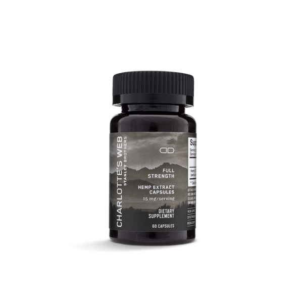 CHARLOTTE'S WEB CBD CAPSULES FULL STRENGTH - 60ct